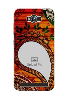 Asus ZenFone Max ZC550KL Colourful Abstract Mobile Cover Design
