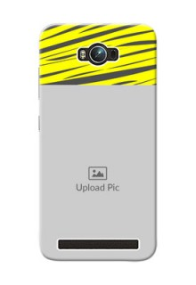 Asus ZenFone Max ZC550KL yellow abstract stripes Design