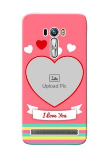 Asus ZenFone Selfie ZD551KL I Love You Mobile Cover Design