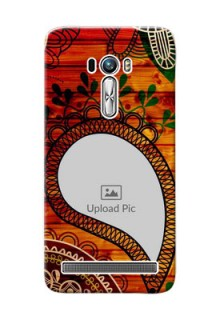 Asus ZenFone Selfie ZD551KL Colourful Abstract Mobile Cover Design