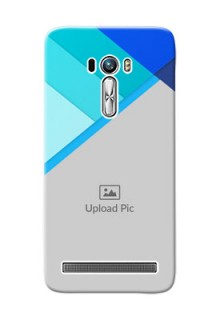 Asus ZenFone Selfie ZD551KL Blue Abstract Mobile Cover Design