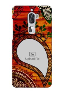 Coolpad Cool 1 Dual Colourful Abstract Mobile Cover Design