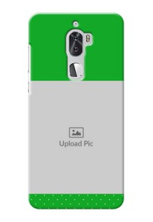 Coolpad Cool 1 Dual Green And Yellow Pattern Mobile Cover Design