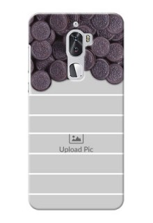 Coolpad Cool 1 Dual oreo biscuit pattern with white stripes Design Design