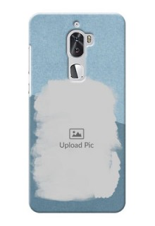 Coolpad Cool 1 Dual grunge backdrop with line art Design Design