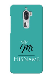 Coolpad Cool 1 Dual Custom Phone Case Mr with Name