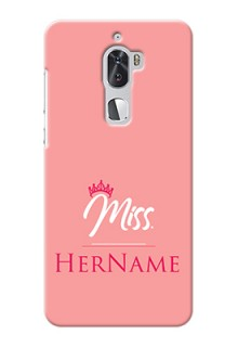 Coolpad Cool 1 Dual Custom Phone Case Mrs with Name