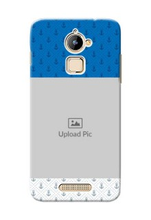 Coolpad Note 3 Lite Blue Anchors Mobile Case Design
