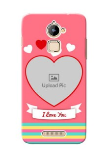 Coolpad Note 3 Lite I Love You Mobile Cover Design