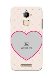 Coolpad Note 3 Lite Love Symbol Picture Upload Mobile Case Design