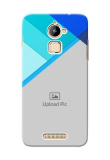 Coolpad Note 3 Lite Blue Abstract Mobile Cover Design