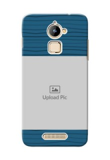 Coolpad Note 3 Lite Blue Pattern Mobile Case Design