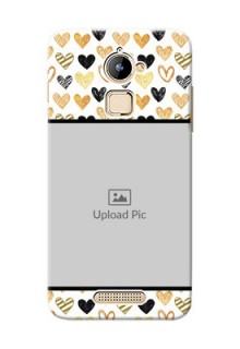 Coolpad Note 3 Lite Colourful Love Symbols Mobile Cover Design