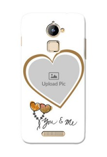 Coolpad Note 3 Lite You And Me Mobile Back Case Design
