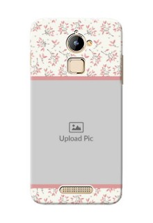 Coolpad Note 3 Lite Floral Design Mobile Back Cover Design