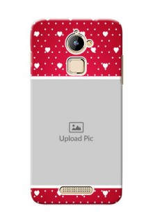 Coolpad Note 3 Lite Beautiful Hearts Mobile Case Design