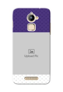 Coolpad Note 3 Lite Violet Pattern Mobile Cover Design