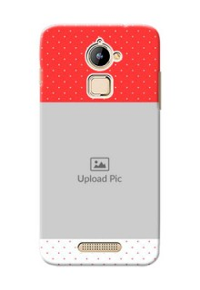Coolpad Note 3 Lite Red Pattern Mobile Case Design