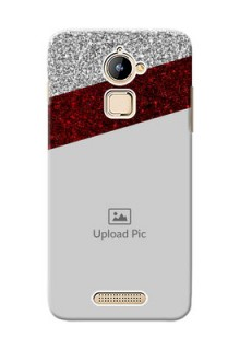 Coolpad Note 3 Lite 2 image holder with glitter strip Design