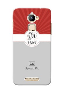 Coolpad Note 3 Lite my dad hero Design