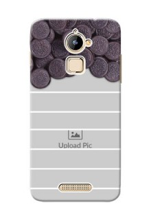 Coolpad Note 3 Lite oreo biscuit pattern with white stripes Design Design