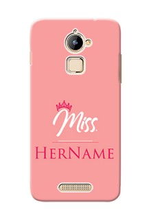 Coolpad Note 3 Lite Custom Phone Case Mrs with Name