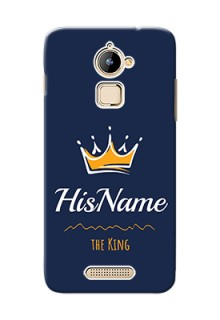 Coolpad Note 3 Lite King Phone Case with Name