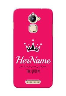 Coolpad Note 3 Lite Queen Phone Case with Name