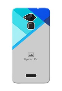 Coolpad Note 3 Plus Blue Abstract Mobile Cover Design