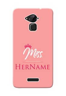 Coolpad Note 3 Plus Custom Phone Case Mrs with Name