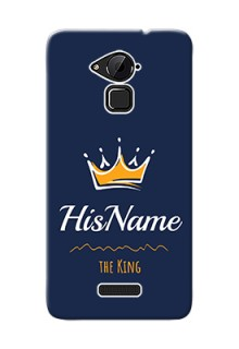 Coolpad Note 3 Plus King Phone Case with Name