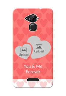 Coolpad Note 3 Couples Picture Upload Mobile Cover Design