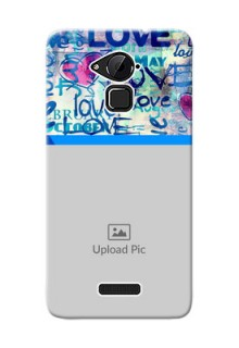 Coolpad Note 3 Colourful Love Patterns Mobile Case Design