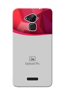 Coolpad Note 3 Red Abstract Mobile Case Design