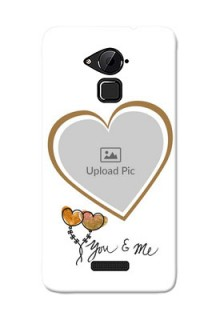 Coolpad Note 3 You And Me Mobile Back Case Design