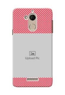 Coolpad Note 5 White Dots Mobile Case  Design