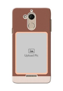 Coolpad Note 5 Simple Photo Upload Mobile Cover Design
