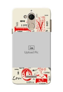 Coolpad Note 5 Lovers Picture Upload Mobile Case Design