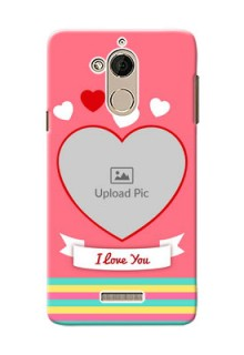 Coolpad Note 5 I Love You Mobile Cover Design