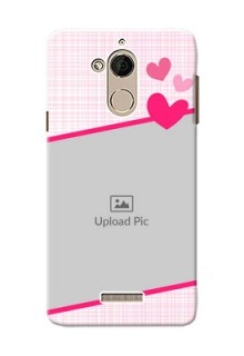 Coolpad Note 5 Pink Design With Pattern Mobile Cover Design