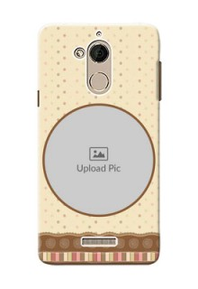 Coolpad Note 5 Brown Abstract Mobile Case Design