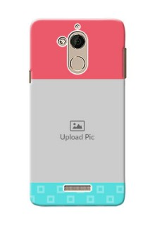 Coolpad Note 5 Pink And Blue Pattern Mobile Case Design