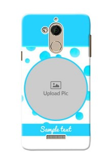 Coolpad Note 5 Blue Bubbles Pattern Mobile Cover Design