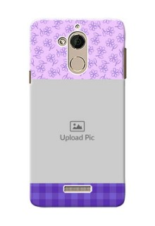 Coolpad Note 5 Floral Design Purple Pattern Mobile Cover Design