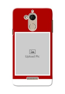 Coolpad Note 5 Simple Red Colour Mobile Cover  Design