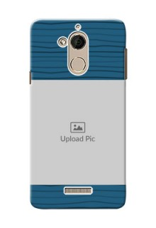 Coolpad Note 5 Blue Pattern Mobile Case Design