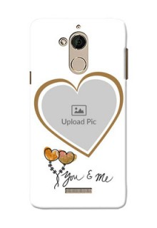 Coolpad Note 5 You And Me Mobile Back Case Design