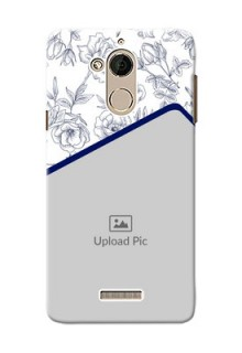 Coolpad Note 5 Floral Design Mobile Cover Design