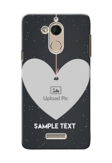 Coolpad Note 5 Hanging Heart Mobile Back Case Design