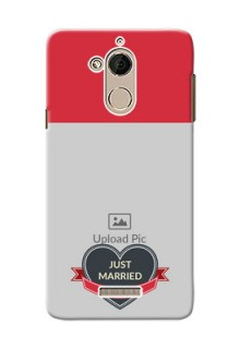 Coolpad Note 5 Just Married Mobile Cover Design